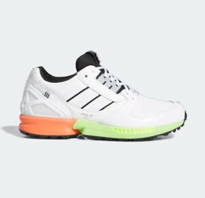 New Adidas ZX 8000 SG Golf Shoes Sneakers (FZ4412) - White