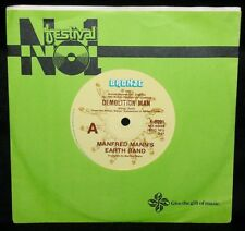 MANFRED MANN'S EARTH BAND - DEMOLITION MAN - '83 OZ 1ST PRESS/BRONZE K-8991/EX