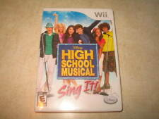 High School Musical: Sing It (Nintendo Wii, 2007) **NO ENGLISH MANUAL**READ**