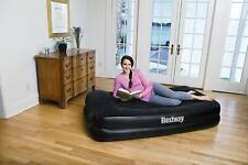 Bestway Premium Single Inflatable Air Bed Mattress Built in Electric Air Pump