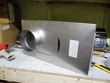 EXCEL 6 INCH CHIMNEY OFFSET BOX WITH CLEAN OUT MM-6FOB STAINLESS STEEL