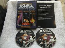 STAR WARS X-WING COLLECTOR SERIES PC-CD ( space combat simulation )