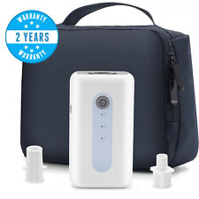 CPAP Cleaner and Sanitizing Machine,Rechargeable with Sanitizer Bag and Adapters