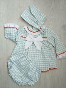 New winter Baby Girls Spanish dress set 6 Months