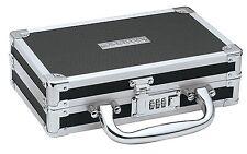 Vaultz Black Combination Lock Medicine Cash Jewlery Case Security Lock Box Safe