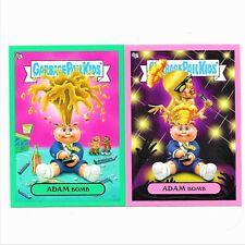 Garbage Pail Kids Flashback Green Pink Adam Bomb Adam Mania #2 #9 Lot