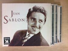 RARE COFFRET 3 CD / JEAN SABLON / READER'S DIGEST / NEUF CELLO