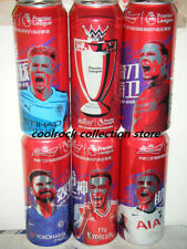 2019 China Budweiser beer Premier League 6 cans set 500ml empty for collectible
