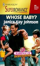 Whose Baby? Marriage of Inconvenience (Harlequin S