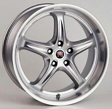 "New Set of 4 Scarallo ROH Drift-R 18"" Wheel Rims For Scion FR-S Subaru Forester"