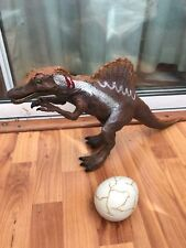 "Hasbro Jurassic Park 3 Giant Espinosaurio electrónica Animatronic figura huevo 16"""