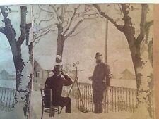 Stereoview Card Swiss Alps 1901 Switzerland B W Kilburn Antique Photo NH