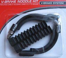RavX V Brake Noodle Kit - No Sludgy liners! 110 & 90 Deg Cable Guide & 2 x Boots