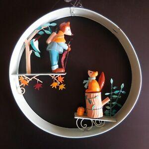 Skulptur Mobile Robin Hood Holz DER VOGEL Boot Frankreich Pop Art Déco N4689