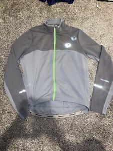 Pearl Izumi Cycling Jacket Fleece Mens XL Gray