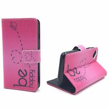 Protective Cover For Wiko Sunny Be Happy Pink Pouch Case Armor Glass 9H