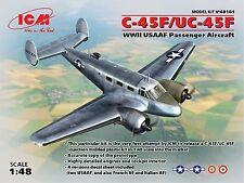 ICM - 48181 - C-45F/UC-45F WWII USAAF Passenger Aircraft - 1:48