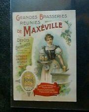 Etiquette chromo Grande Brasserie de  Maxéville.