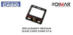 Replacement Vintage Original Glass CASIO GAME GT-6. NOS