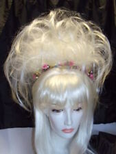 SIN CITY WIGS STUNNING UP DO LAYERS FLIPS HALF UP BANGS WHITE BLONDE 1 OF A KIND