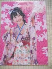 AKB48 SKE48 Rena Matsui  [Kimono Yukata Ver.] clear file folder  JAPAN LIMITED