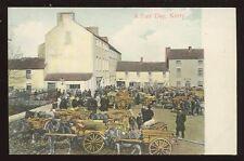 Ireland KERRY Fair Day PPC busy scene pre 1919