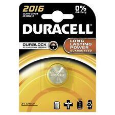 6 x Duracell Lithium DL2016 CR2016 , 6 x 1er Blister, bis 2023