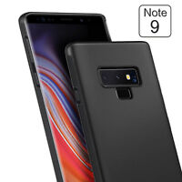 For Samsung Galaxy Note 9 S9 S8 Plus Shockproof Carbon Fiber Soft TPU Case Cover
