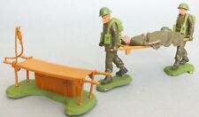Britains Swoppets British Infantry Stretcher Party Figures