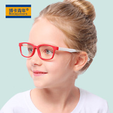 Children Anti-blue Light Glasses Bocajuniors Silicone Goggles Soft Frame 2020