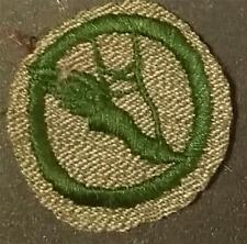 1933-1936 Girl Scout Badge DANCER- GREY GREEN ROUND