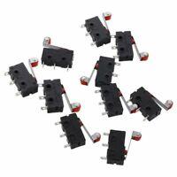 3X(AC 250V 5A SPDT 1NO 1NC Interruptor-micro de palanca de rodillo de bisagra 8M