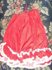 Halloween or Christmas Costume Mrs. Santa Claus skirt Rockabilly red womens L XL