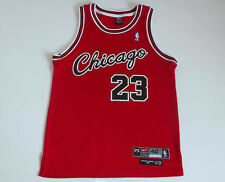Chicago Bulls #23 Michael Jordan Authentic Nike Flight NBA Rookie Jersey size 40