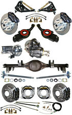 NEW SUSPENSION & WILWOOD BRAKE SET,CURRIE REAR END,CONTROL ARMS,POSI GEAR,656831
