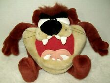1997 Vintage Looney Toons Tasmanian Devil Talking Noise Making Plush Soft Toy