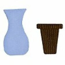 Quickutz/Lifestyle Crafts Rs-0432 Vases 1 Cutting Die NEW  rare
