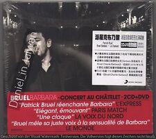 Patrick Bruel: Bruel Barbara Le Chatelet (2016) 2-CD & DVD / STICKER TAIWAN