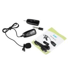 XXD-G18L 2.4G Wireless Microphone Hands Free Clip-on Lapel Portable F6P3