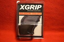 X-GRIP GL26-27 FOR GLOCK FULL SIZE G17 FOR USE IN G26 SUB-COMPACT PISTOL GEN3-4