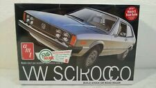 AMT VW Scirocco Stock or Road Racer Retro Deluxe 1:25 Scale Model Kit # 925