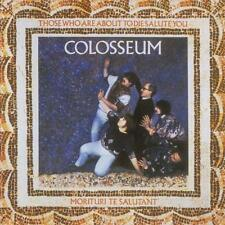 COLOSSEUEM - THOSE WHO ARE ABOUT TO DIE SALUTE YOU Inc Bonus Tracks (Sealed) CD