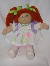 """16""""  Cabbage Patch Girl Doll W/Red Yarn Pig Tails 1982"""