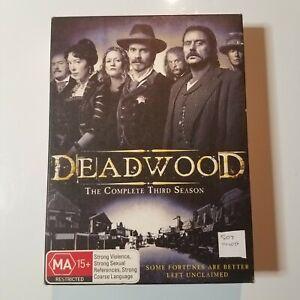 Deadwood: The Complete Third Season   DVD TV Series   2004   Timothy Olyphant