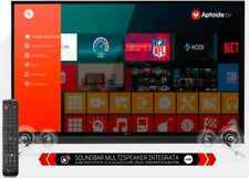SMART TV 4K 50 Pollici Televisore Telesystem Ultra HD Android TV Sound50 ITA