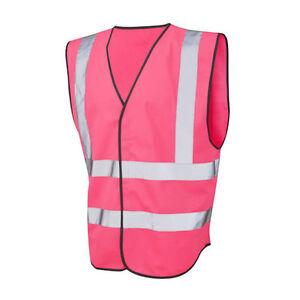 Pink High Visibility Vests HiViz Hi Vis