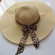 New Women Beach Hat Lady Derby Cap Wide Brim Floppy Fold Summer Sun Straw Hat