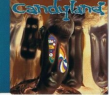 CANDYLAND RAINBOW MIXES + SUN ON SKIN 4 TRACK CD SINGLE ON FICTION RECORDS 1992