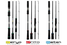 Storm Gomoku Nero ERITO 6' 1 Piece PE 0.8-1.5 Micro Jigging Spin Red Light Rod