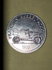 Sunoco DX Franklin Barrel Hood Antique Car Coin - 1906 - Antique Car Token-Ser 1